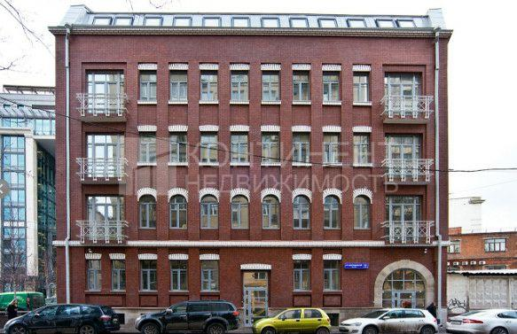 Продается здание город москва, метро павелецкая, 5-й монетчиковский переулок, д 7