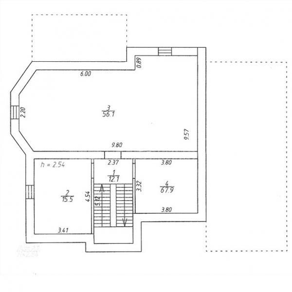 Каркасные дома ключ фундаментом в Люберцах